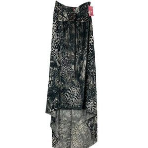 (INGEAR) STRAPLESS MAXI A-LINE DRESS SIZE LARGE